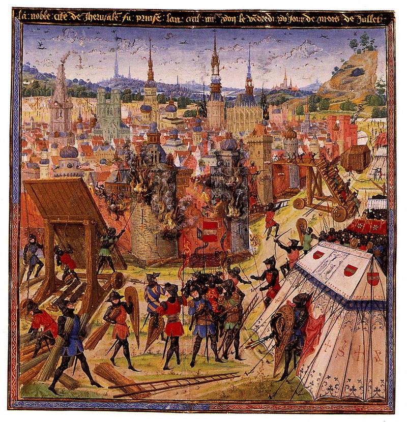 Захват Иерусалима крестоносцами, 1099.