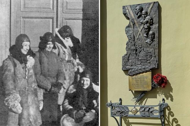 Сегодня о героическом подвиге ленинградских высотников напоминает памятный знак, установленный у стен Петропавловского собора.