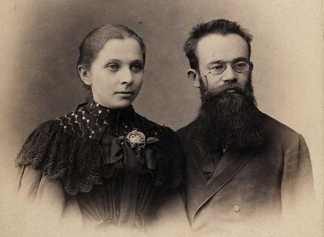 Супруги Грушевские