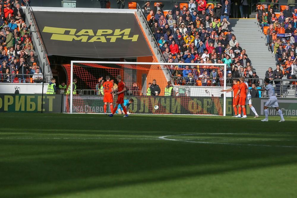 Третий гол в ворота