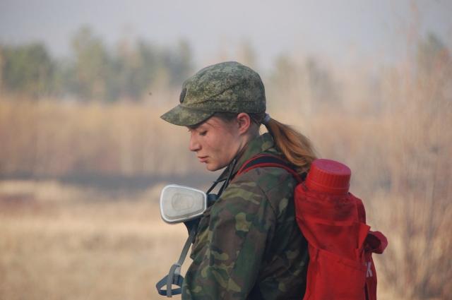 Анастасия - руководитель Добровольные лесные пожарные Забайкалья
