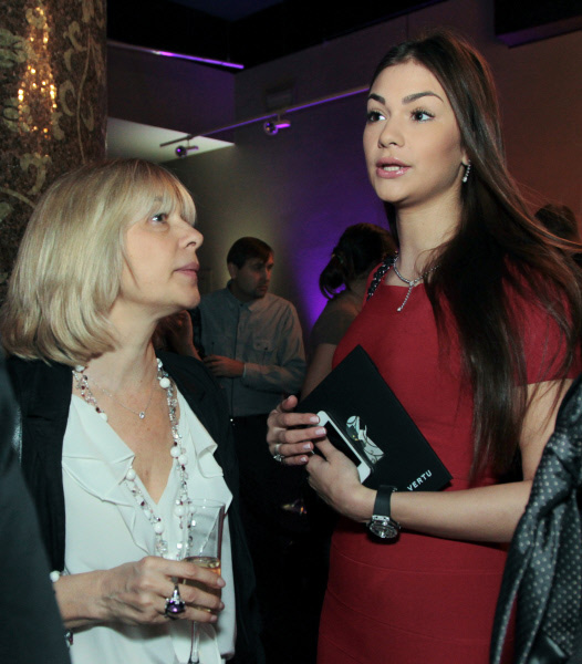 Вера Глаголева с дочерью Анастасией Шубской