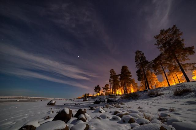 Красивый зимний пейзаж поможет найти плюсы в суровом уральском климате.