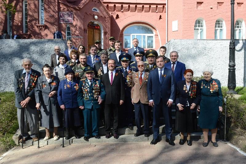 Дмитрий Медведев в Смоленске встретился с ветеранами.