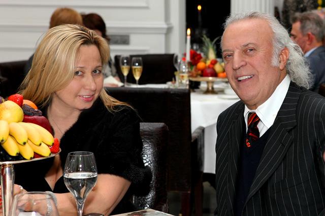 Илья Резник с супругой Ириной.