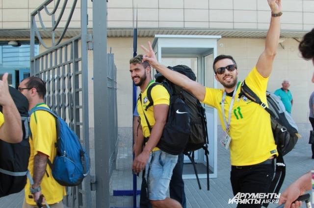 Приезд бразильцев в Ростов стал настоящим событием для города!