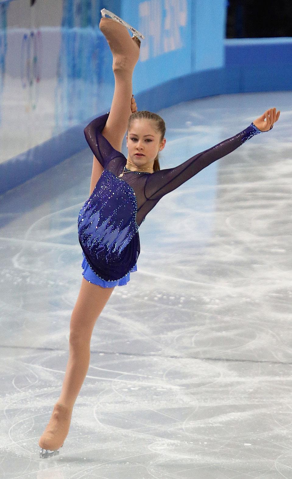 Юлия Липницкая на Олимпиаде в Сочи. 2014 год