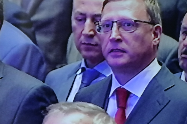 Инаугурация губернатора Омской области прошла очень торжественно.