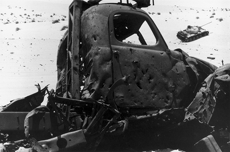 С самого начала конфликта Израиль обеспечил себе полное господство в воздухе, что позволило ему практически без серьёзных помех уничтожать наземные силы противника. 1967 г