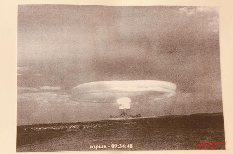 Это одна из немногих доступных фотографий атомного взрыва на Тоцком полигоне. Фото: АиФ / Полина Седова