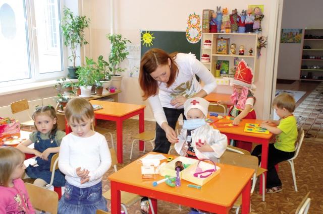 К детскому саду ребенку нужно пройти медицинский осмотр.
