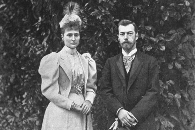 Император Николай II и императрица Александра Феодоровна. 1896 год.