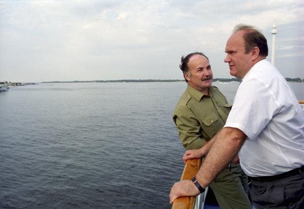 Николай Губенко и Геннадий Зюганов.