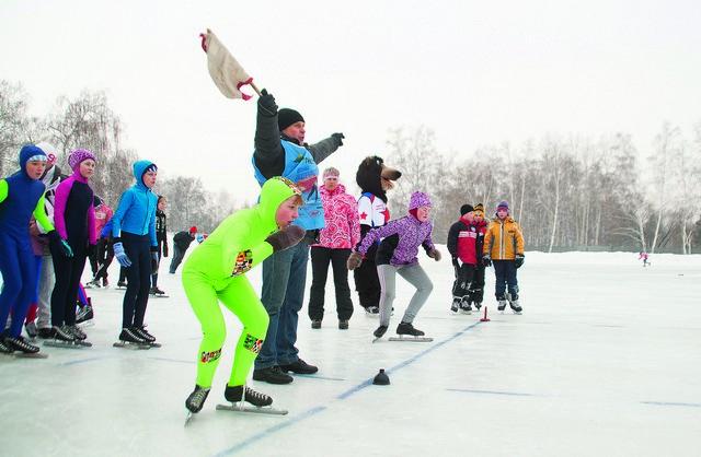Зимние виды спорта популярны у омичей.