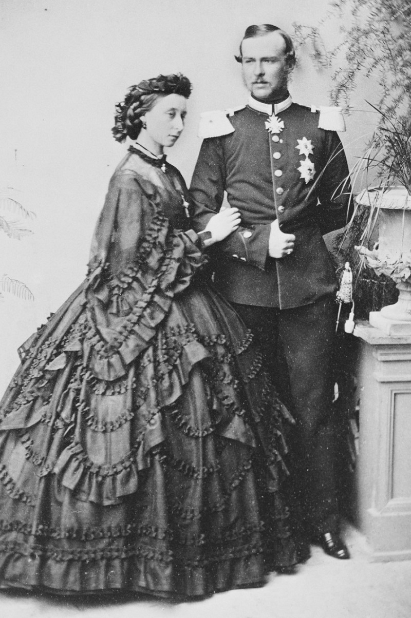 герцогиня Алиса и ее супруг Людвиг