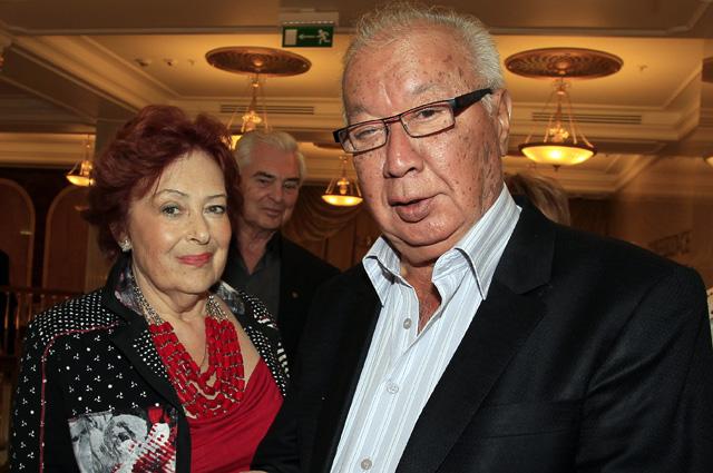 Алла Йошпе и Стахан Рахимов, 2012 год