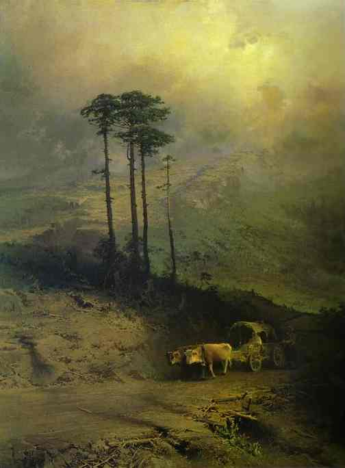 Картина была куплена у автора Сергеем Третьяковым.