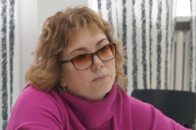Оксана Ямилова.