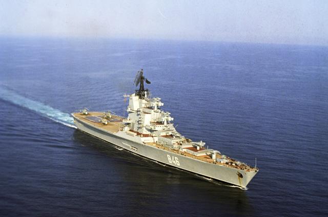 Противолодочный крейсер «Москва».