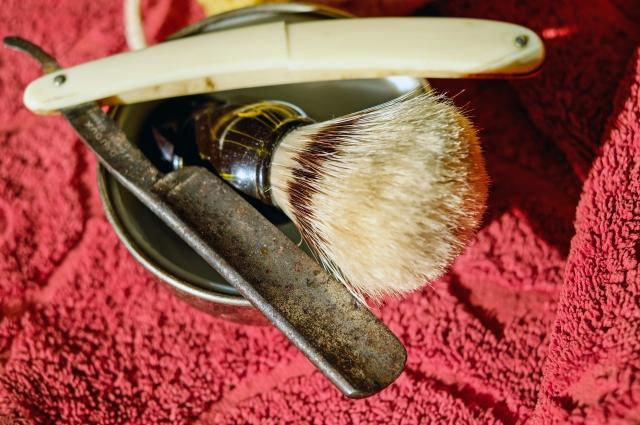 Следы коррозии на спусках на качество бритья не влияет.