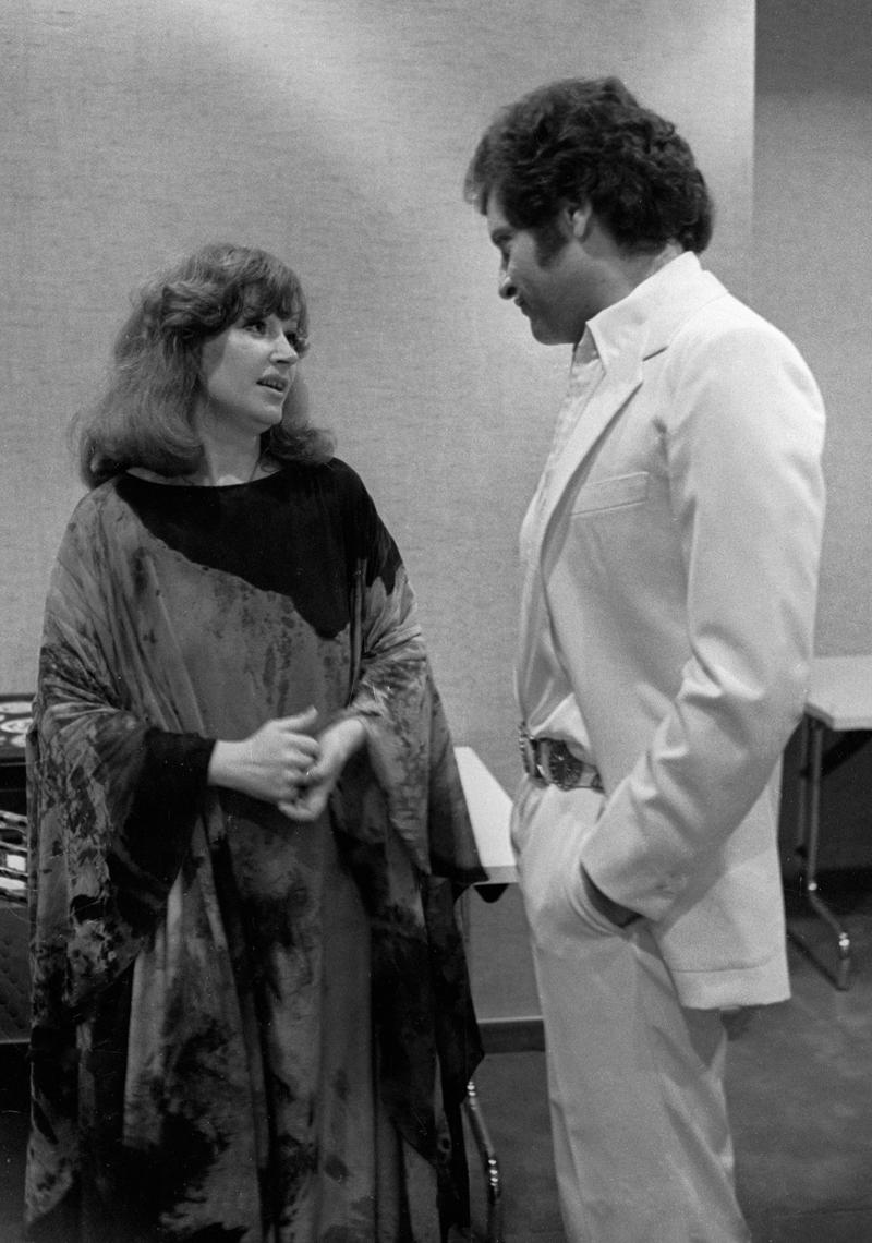 Алла Пугачева и Джо Дассен. 1979 г.
