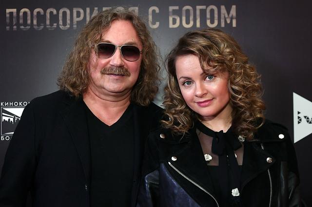 Игорь Николаев с супругой певицей Юлией Проскуряковой. 2018 год.
