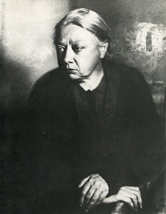 Надежда Крупская, 1936 год.