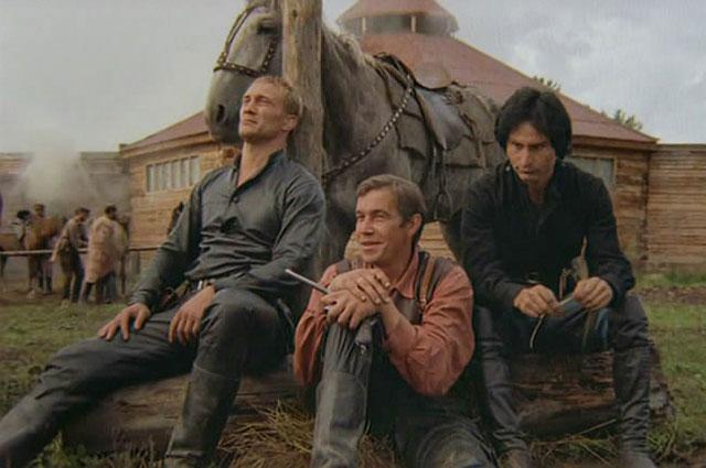 Кадр из фильма «Волчья кровь» (1995)