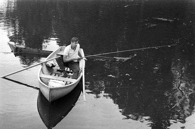 На рыбной ловле. 1969 г.