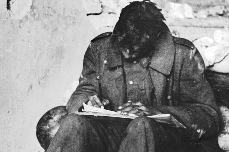 Немецкий солдат в Сталинграде