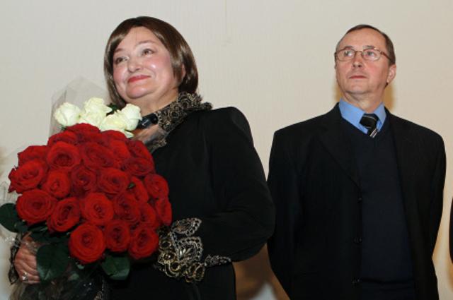 Наталья Бондарчук и Николай Бурляев.
