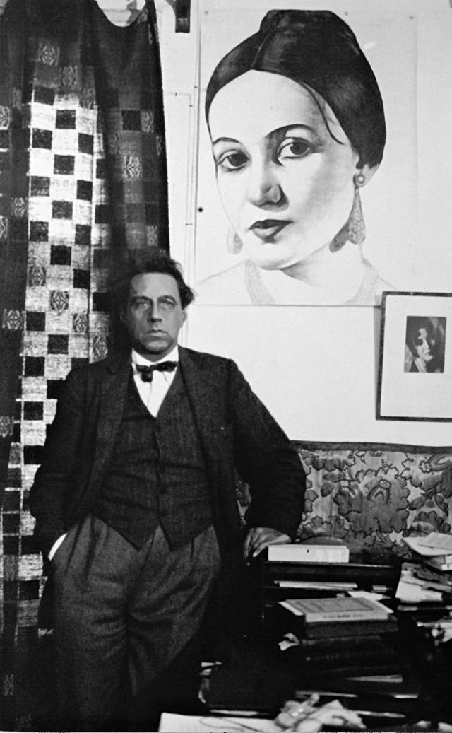 Вс. Мейерхольд и портрет З. Райх
