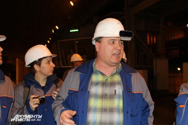 На «Ростовском электрометаллургическом заводе» работают в основном бывшие шахтеры.
