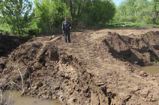 Работы на реке  Хорошенькой велись без разрешений экологов.