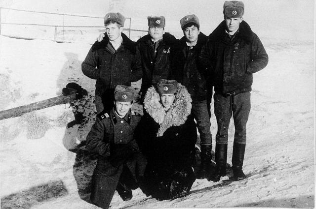 Дмитрий Старостин во время службы в армии.