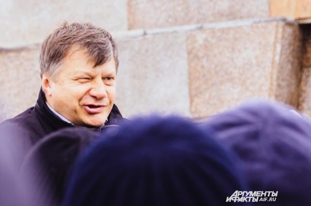 Лидер партиии ПАРНАС в Татарстане Марсель Шамсутдинов.