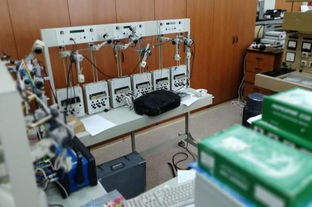 В ЦМС много разнообразного оборудования.