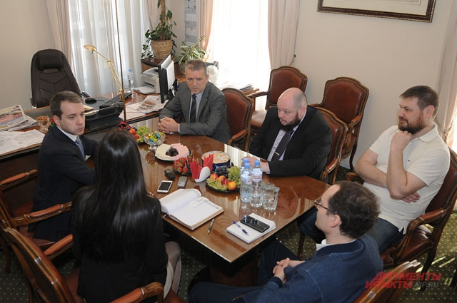 И.о. министра связи и массовых коммуникаций Николай Никифоров в редакции «АиФ».