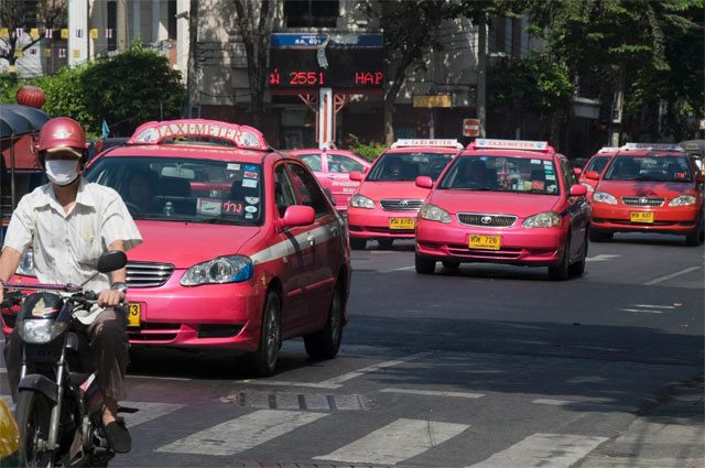 Бангкок, такси