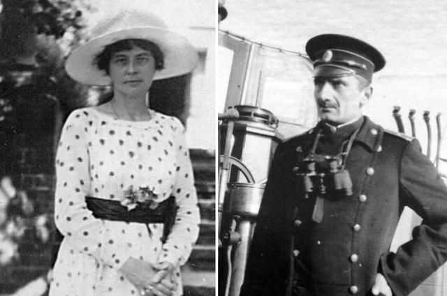 Софья и Александр Колчак.