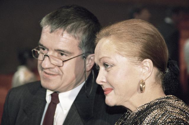 Наталья Гундарева и актер Михаил Филиппов.