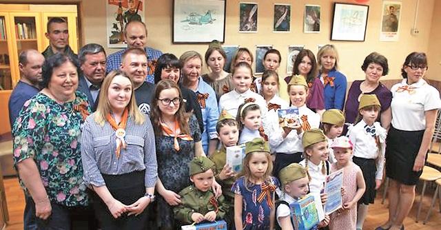 Внуковцы – участники конкурса  «История семьи– история страны».