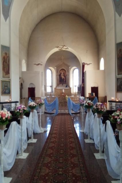 Церковь Святого Амбарцума изнутри