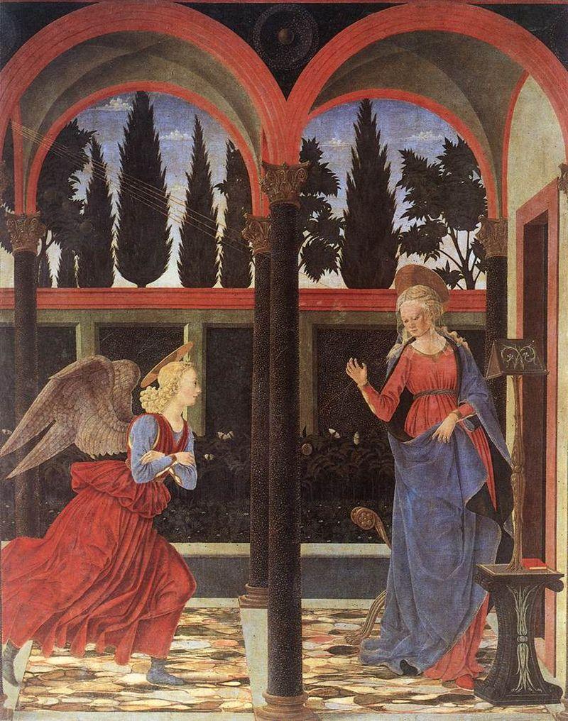 Алессио Бальдовинетти. Благовещение Девы Марии.