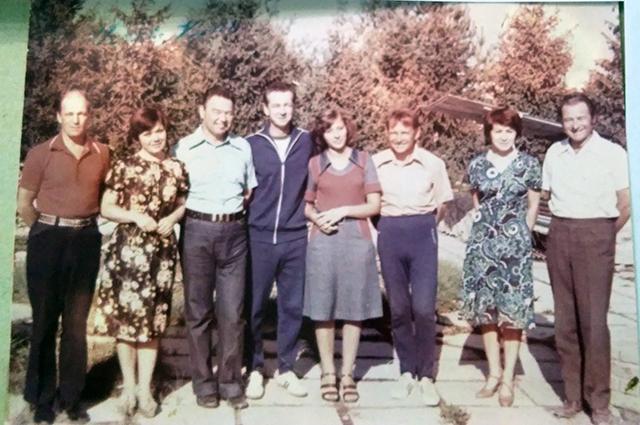 На памятное фото с космонавтами Татьяна не попала, о чем жалеет до сих пор.