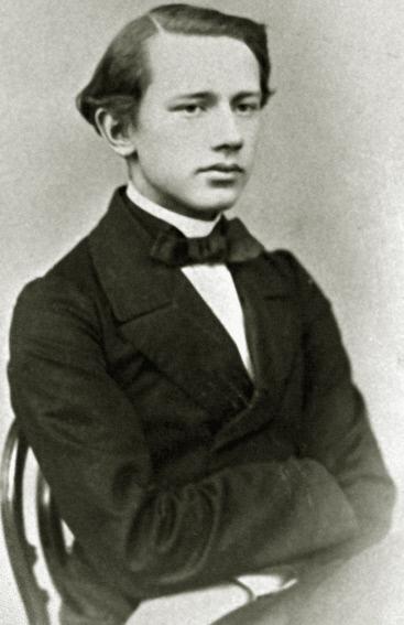 Петр Чайковский. 1862 год
