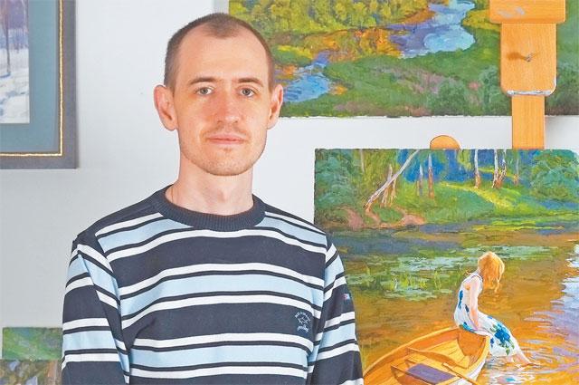 Художник Сергей Пантелеев влюблён в родные места.