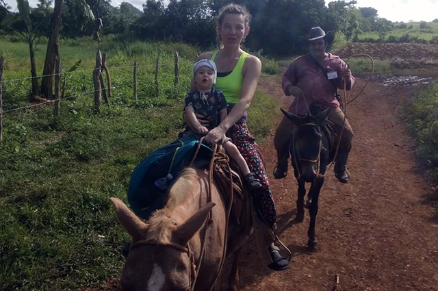 На кубинской ферме.