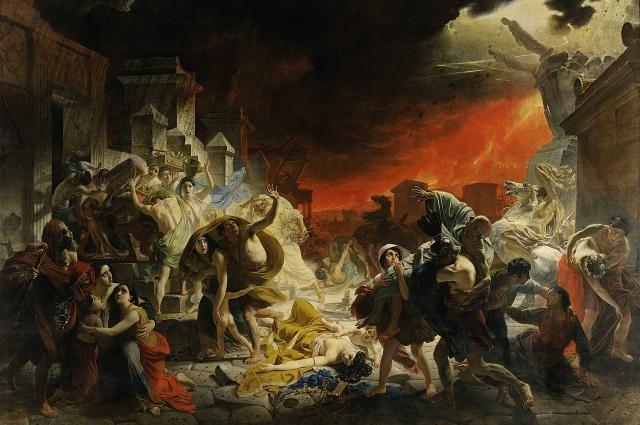 «Последний день Помпеи». Карл Брюллов, 1830-1833