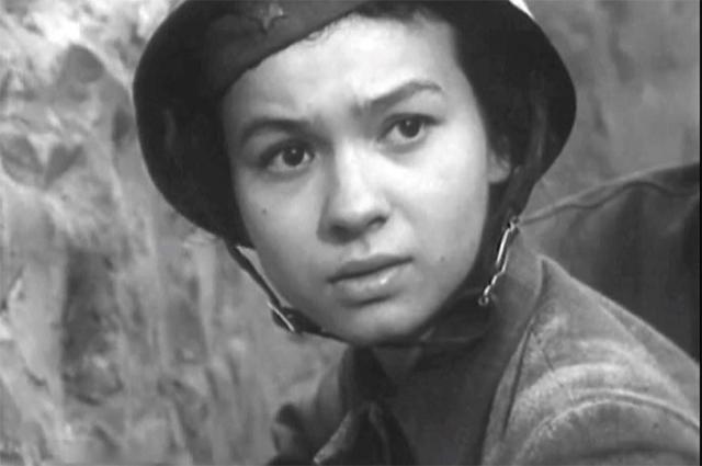 Наталья Рычагова в  фильме «Нет неизвестных солдат», 1965 г.